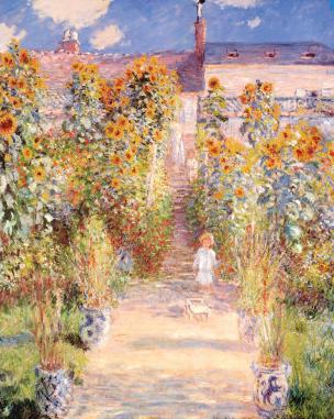 Monet Garden Vetheuil